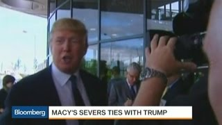 You're Fired! Macy's Is the Latest to Dump Trump