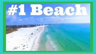 Siesta Key Beach Florida! #1 Beach in the USA? (RV Living)