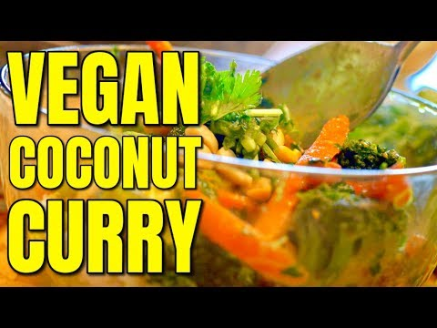 Easy Vegan Coconut Curry Recipe / Vegan Thai Coconut Curry