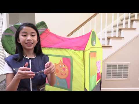 Pretend Play Police with Tricky Thief FISHING TOYS and Snacks