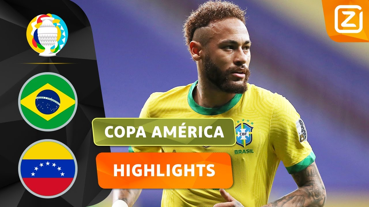 DE COPA AMÉRICA IS BEGONNEN! 🔥🥳 | Brazilië vs Venezuela | Copa América 2021 | Samenvatting