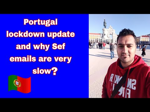 Portugal lockdown and Sef email update |Raja Ali diaries|