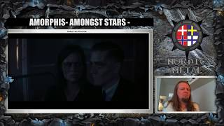 AMORPHIS - Amongst Stars REACTION by Nordic Metal
