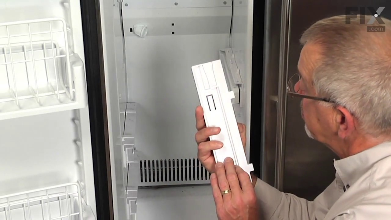 Kenmore refrigerator repair how to replace the freezer for Kenmore refrigerator fan motor