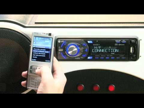 Som para carro LAC8910, da LG, toca MP3 por USB e Bluetooth