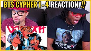 Baixar BTS CYPHER 1-4 REACTION! | He's a GREAT Rapper BUT This Is BTS!!