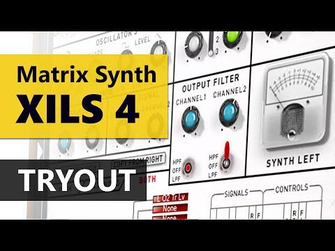 XILS 4 Analog Matrix Modular Synthesizer Tryout