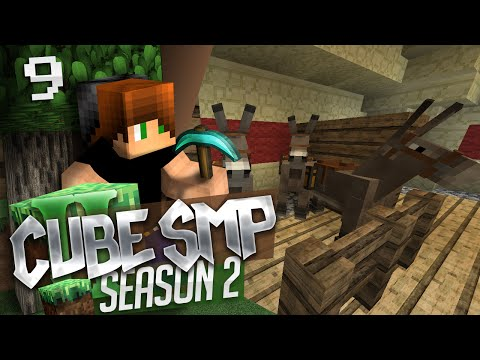 Minecraft: Cube SMP S2! Ep. 9 - Three Times the Messiah