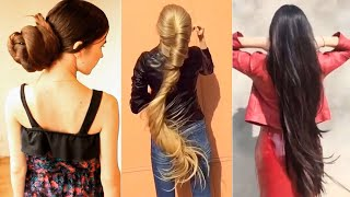 Download Video Bun Drop Compilation with 42 Most Beautiful Long Hair Girls (2018) MP3 3GP MP4