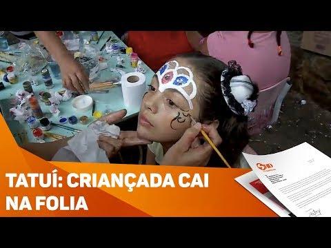 Tatuí: criançada cai na folia - TV SOROCABA/SBT