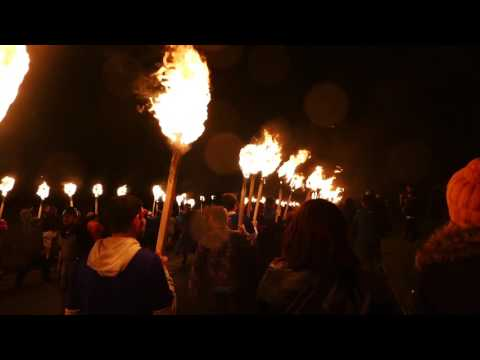 Day 6: South Mainland Up Helly Aa