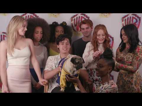 Doug the Pug Interviews RIVERDALE at Comic-Con 2017 #WBSDCC