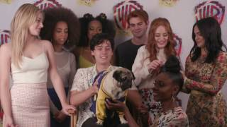 Doug the Pug Interviews RIVERDALE at Comic-Con 2017 #WBSDCC