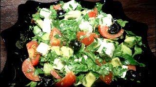 Салат с авокадо, Простые рецепты