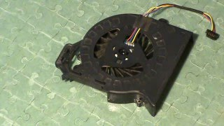 HP dv6-6c04er ремонт кулера частина 2
