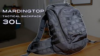 Mardingtop 30L Tactical Backpack (In-Depth Review 2021)