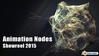 Animation Nodes Showreel 2015