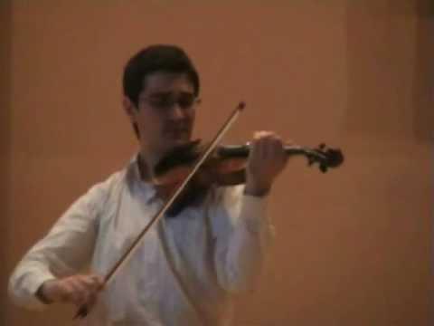 Mendelssohn: Violin Concerto (3° mov.) - Pedro Barreto
