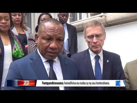 INFO K MADA : PM Mahazoarivo DU 06 JUIN 2019 BY KOLO TV
