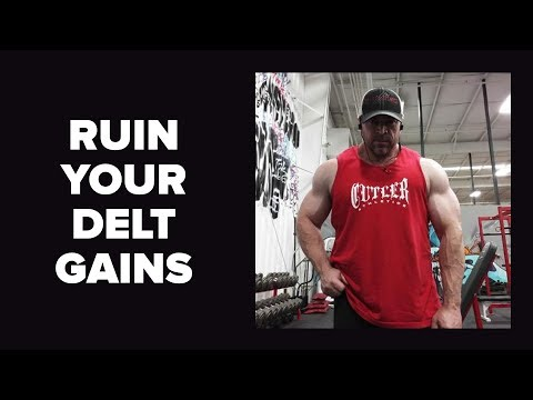 3 Ways to Ruin Your Shoulder Gains