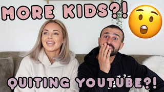 MORE BABIES,  QUITTING YOUTUBE & OUR NEW PROPERTY | 2020 ASSUMPTIONS OF US | Lucy Jessica Carter