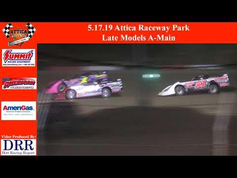5.17.19 Attica Raceway Park Late Models A-Main