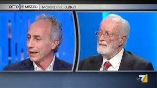 Marco Travaglio - Eugenio Scalfari  / Otto e Mezzo 19 novembre 2015