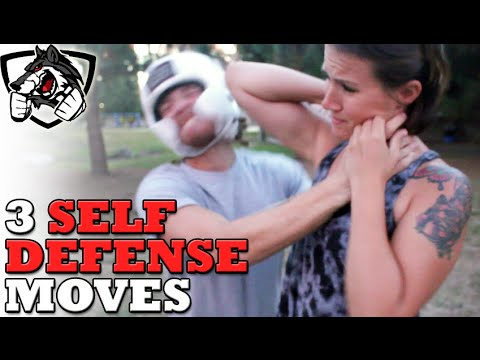 3 Self Defense Moves You NEED To Know