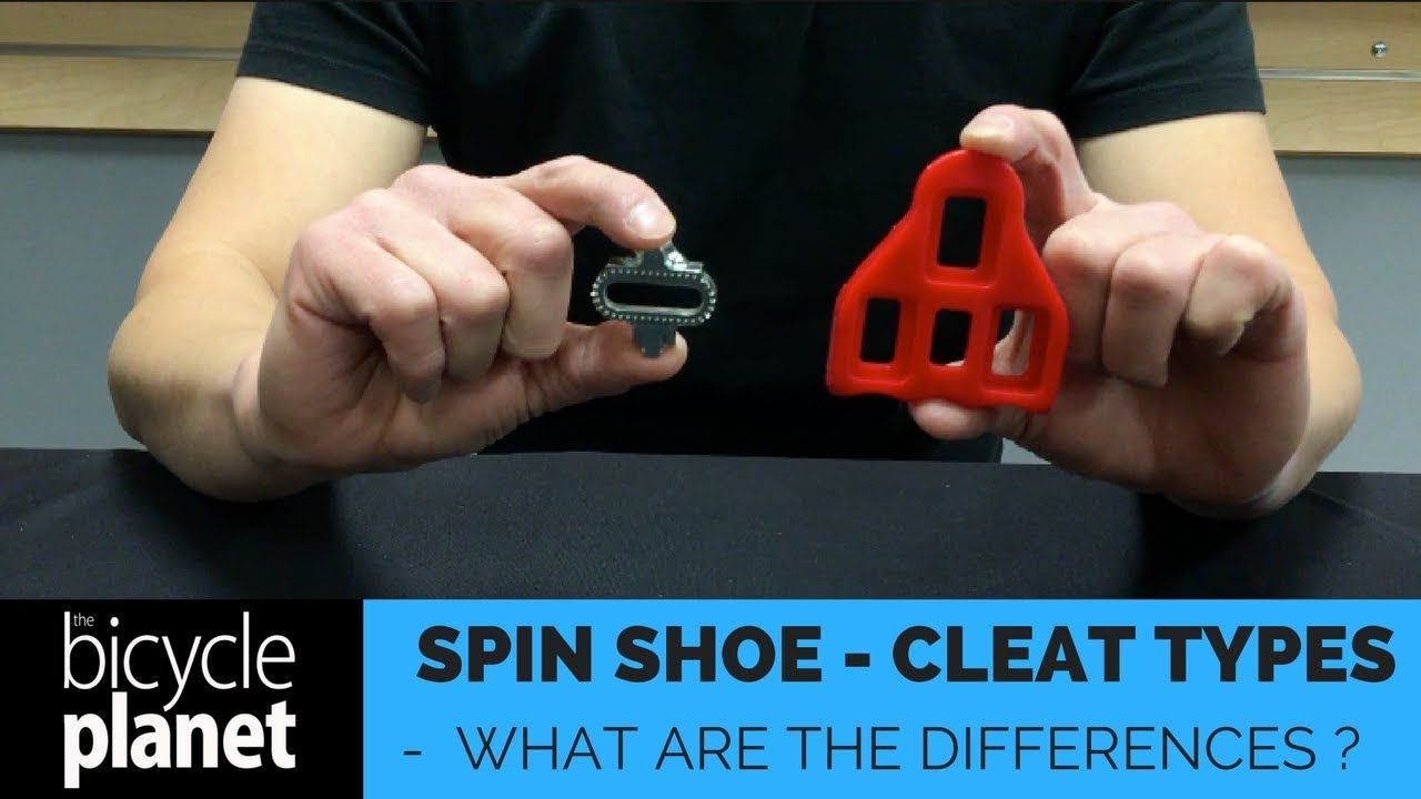 Spin Shoes - What cleat do I need