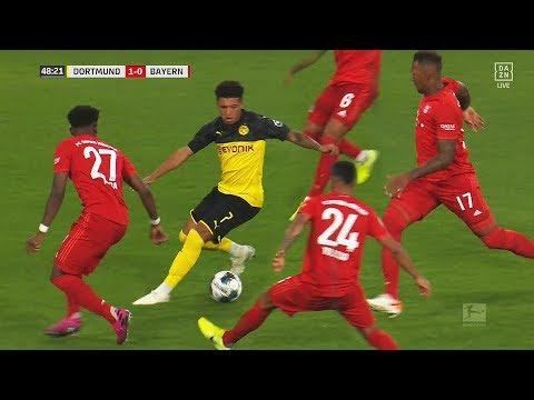 Jadon Sancho Plays Football Like FIFA Street!