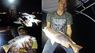 OVERNIGHT FISHING for Golden Snappers in Lukut