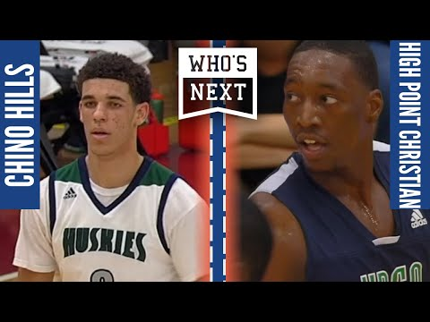 Lonzo vs Bam Adebayo Highschool game