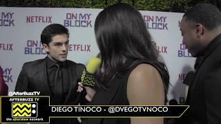 "Netflix's ""On My Block"" Interview with Diego Tinoco"