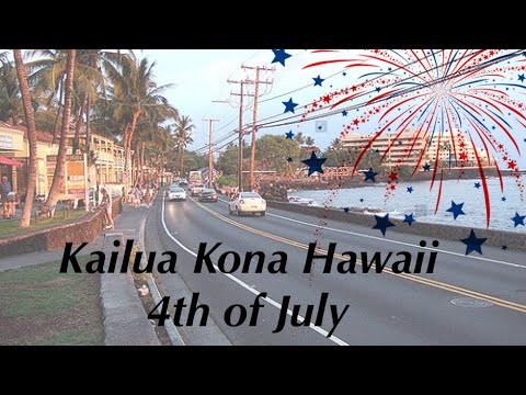 2017 4th of July in Kailua Kona Hawaii