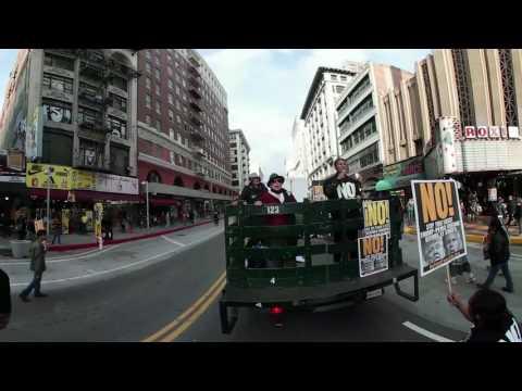 RefuseFascismLA Rally & March 1/15 #1