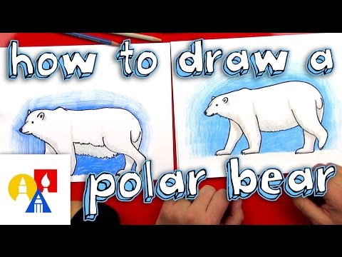 How To Draw A Polar Bear (Realistic)