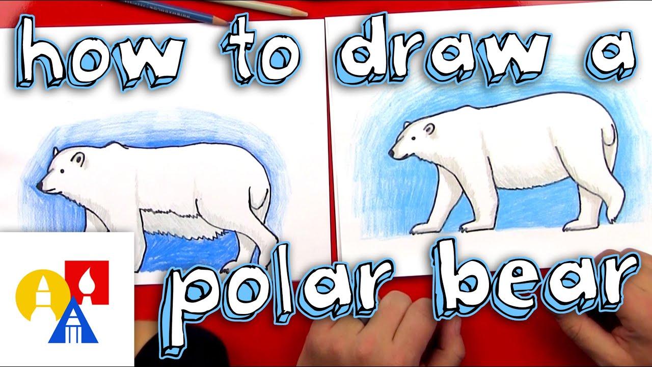 How To Draw A Polar Bear Realistic