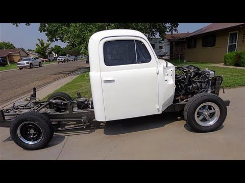 1951 FORD F1 Pickup Truck Restoration Build Project