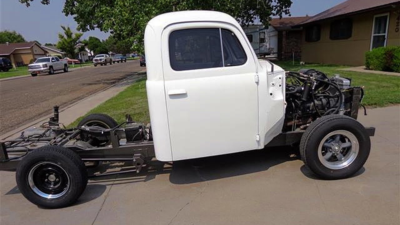 Build A Ford Truck >> 1951 Ford F1 Pickup Truck Restomod Build