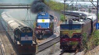 12 TRAINS ON MUMBAI - PUNE LINE | DECCAN QUEEN EXPRESS, DURONTO & MORE  - Indian Railways
