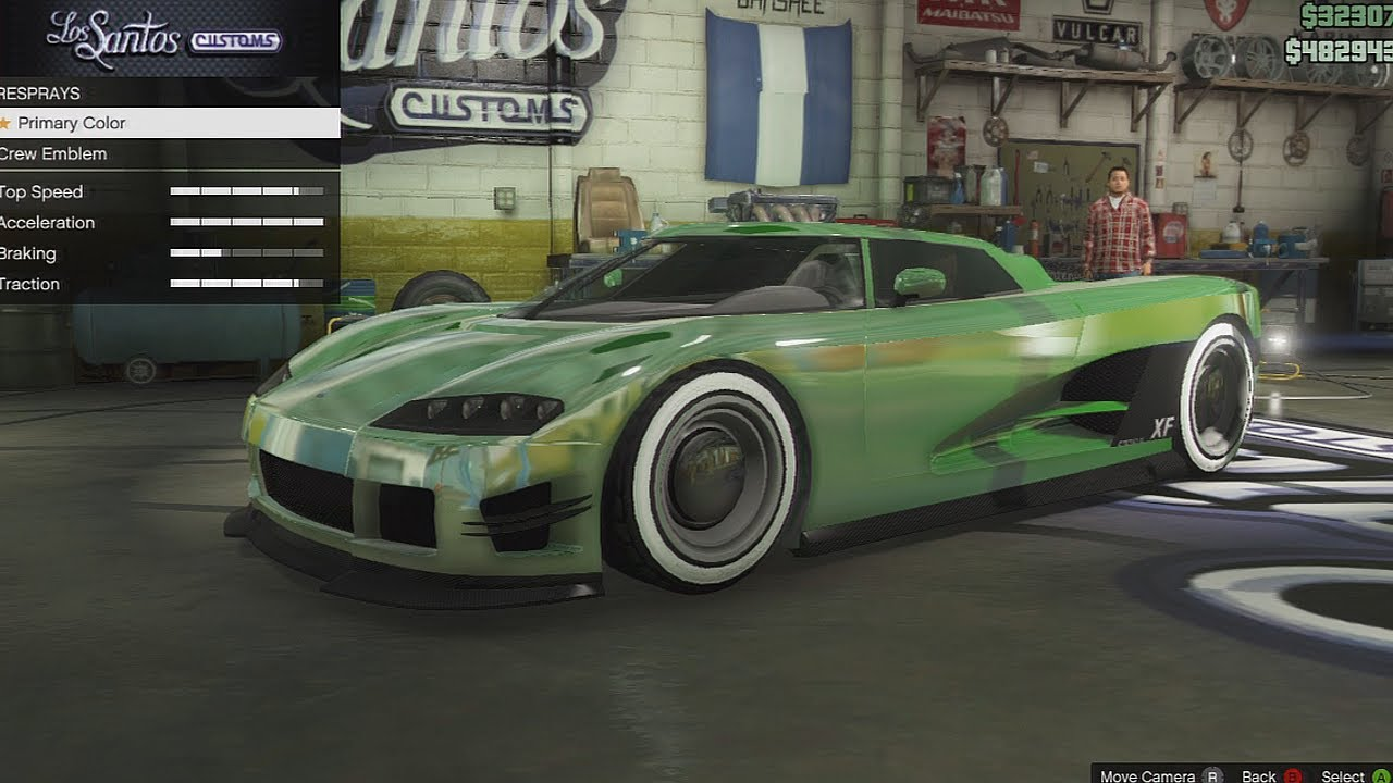 Gta 5 Online How To Get Coloured Chrome On Cars How To