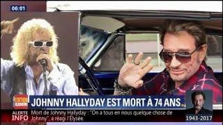 Mort de Johnny Hallyday: