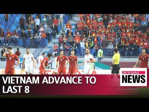 Park Hang-seo's Vietnam beat Jordan on penalties to advance to QF