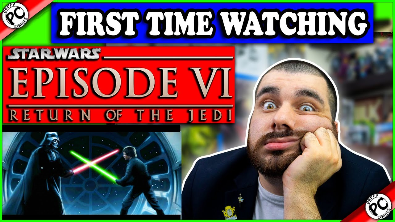 Reacting to STAR WARS: Episode VI - Return of the Jedi | FIRST TIME WATCHING