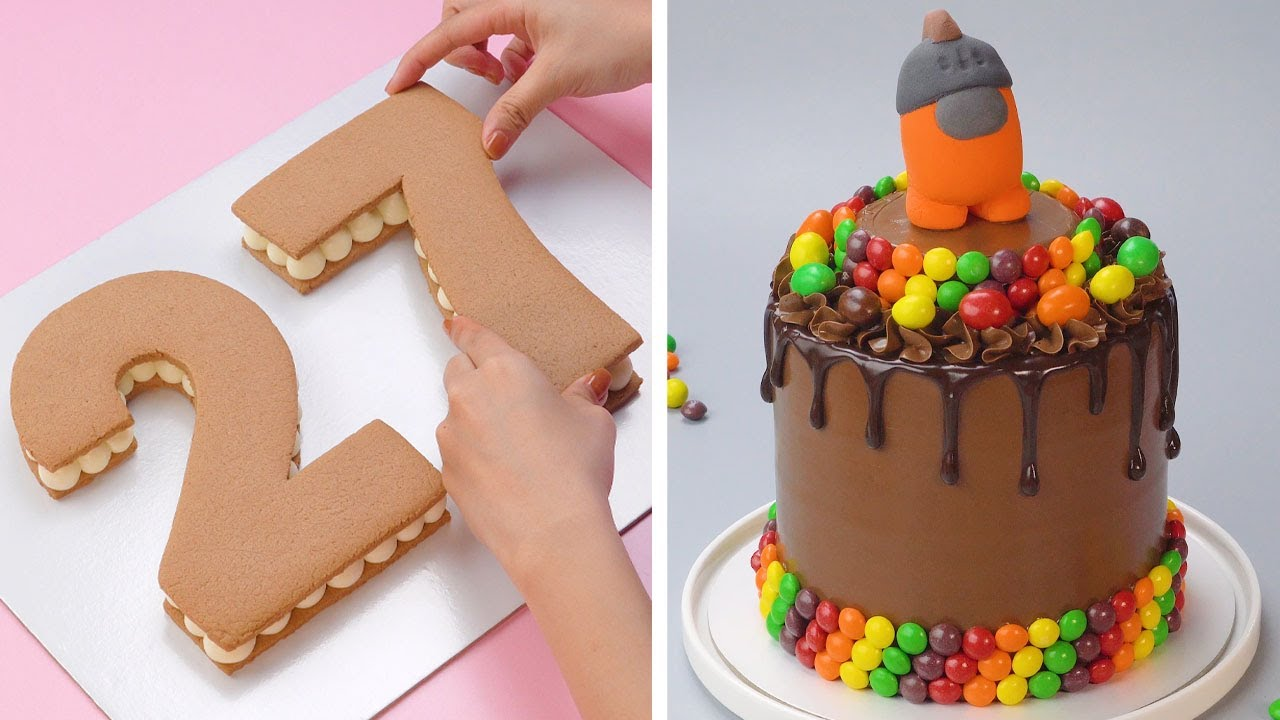 Stunning Chocolate Cake Decorating Compilation   Simple Cake Decorating For Your Family
