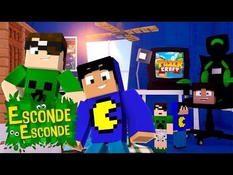 Minecraft: QUARTO DO PAC E MIKE! (Esconde-Esconde)