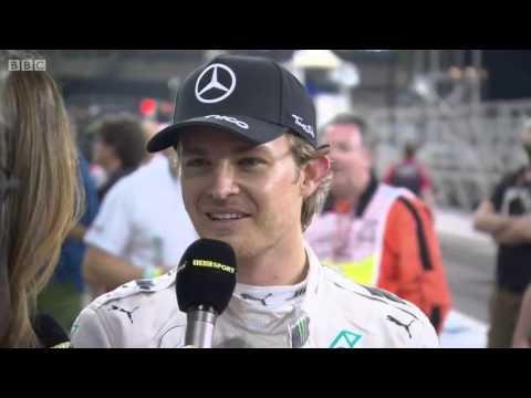 2015 Abu Dhabi - Post-Race: Nico Rosberg and team celebrations