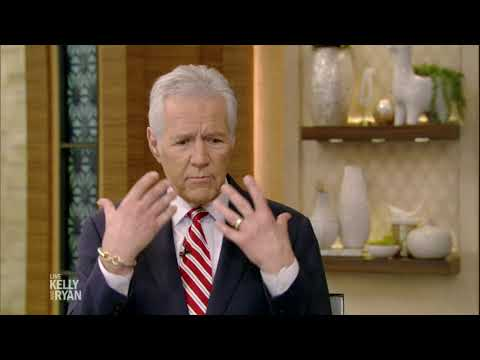 Alex Trebek on His Facial Hair Transformations