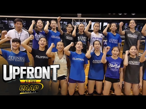 Ateneo Lady Eagles | Women's Volleyball | Upfront at the UAAP