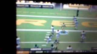 NCAA football 10 PSP gameplay